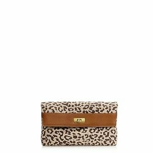 j.Crew cheetah print Clutch/Purse